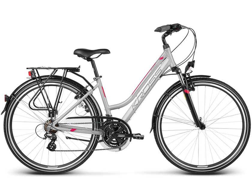 City bike standard silver W-900