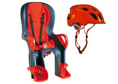 Child Seat + Helmet