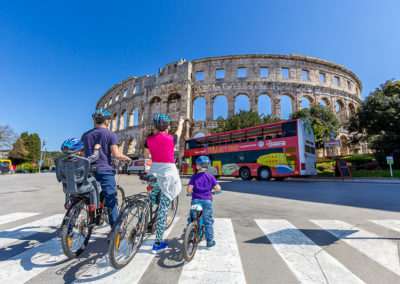 Pula City Bike & E-bike Tour